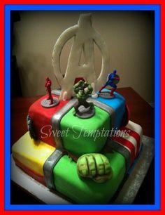 avenger cake - Google Search