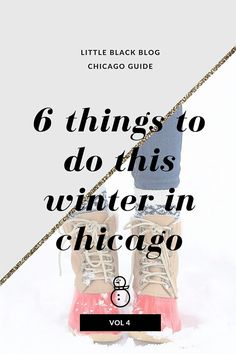 Little Black Blog | Chicago Fashion and Beauty Blog: Chicago Guide Vol. 4: 6 Things to Do This Winter in Chicago