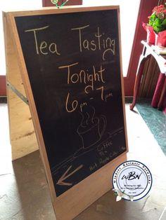 tea tasting Hot Apple Cider, Chalkboard Signs, Tea, Creative, Teas, Tees