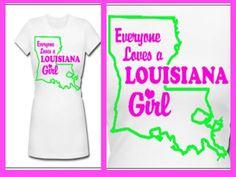 Everyone Loves a Louisiana Girl Sting Like A Bee, Grey Vest, Louisiana, Women, Woman