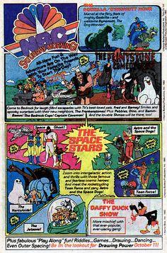 NBC Saturday Morning Cartoon ad - 1980