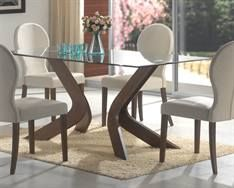 Max Furniture San Vicente Dining Table  Clean, sculptured, and functional define the San Vicente Collection.  Featuring a smart array of upholstery, wood, and glass, this collection offers the best in furniture style.   http://www.maxfurniture.com/detail---San-Vicente-Dining-Table-0-40300.aspx