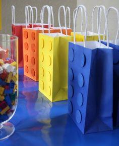 LEGO szatyor, táska, papírzacskó