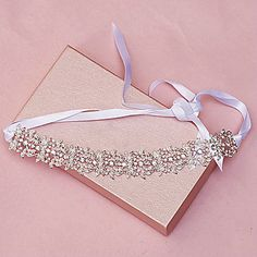 Women Rhinestone Hair Band Wedding Headpiece – USD $ 25.99 Lightinthebox.com