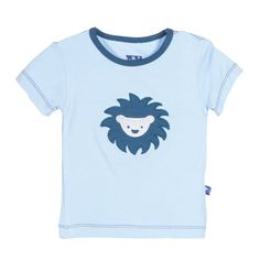 KicKee Pants Little Boys Short Sleeve Applique Tee, Pond Sunshine Lion, Boys 8. Celebrate the Innocence of Childhood with KicKee Pants. Adorable,Comfy and Oh So Soft!. Machine Washable.