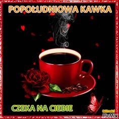 popołudniowa kawka Good Morning Funny, Morning Humor, Roses, Pink, Rose