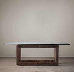 Reclaimed Brazilian Wood Rectangular Dining Table $1500-2400