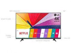"""Smart TV LED 55"""" LG 4K/Ultra HD Full HD 55UF6800 - WebOs Conversor Digital Wi-Fi 2 HDMI 1 USB com as melhores condições você encontra no Magazine Sualojaverde. Confira!"""