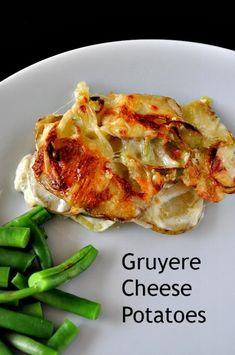 Easter Brunch - Gruyere Cheese Potatoes