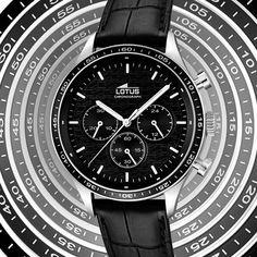 Déjate hipnotizar por Lotus, visita todas las novedades que tenemos http://www.marjoya.com/relojes-lotus-lotus-hombre-c-111_171_133.html?vertodos