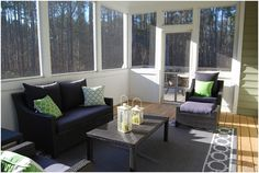 3 Single-Wide Mobile Home Additions That Will Blow Your Mind 3 Single-Wide Mobile Home Additions Sunroom Sunroom Furniture, Outdoor Furniture Sets, Furniture Ideas, Remodeling Mobile Homes, Home Remodeling, Bathroom Remodeling, Canapé Design, House Design, Design Ideas
