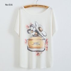 2016 New Summer Women's plus size loose tops blouse glasses women Perky Pug bowknot batwing Short sleeve T-shirt designer tee