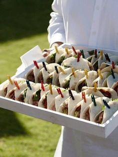 food presentation concept