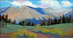 Near Lost Lake by Susan Mayfield Oil ~ x