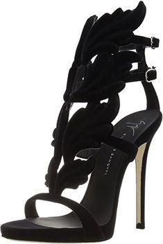giuseppe zanotti giuseppe zanotti women s heeled san. Office Fashion Women, Womens Fashion For Work, Black Sandals, Shoes Sandals, Heels, Pumps, Womens Fashion Sneakers, Fashion Shoes, Women's Fashion