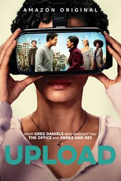 Trailer, images and posters for the satirical sci-fi comedy series UPLOAD starring Robbie Amell and Andy Allo. Amazon Prime Shows, Amazon Prime Video, Amazon Prime Movies, Alexander Ludwig, Matt Czuchry, Tv Series 2017, Web Series, Book Series, Emily Vancamp