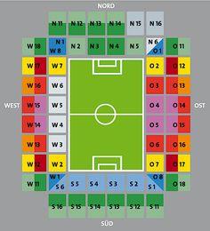1. FC Köln   Stadionplan