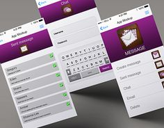 "Check out new work on my @Behance portfolio: ""Message app UI design"" http://be.net/gallery/40408643/Message-app-UI-design"