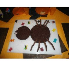 Réalisez un gâteau pour Halloween : Jessica F