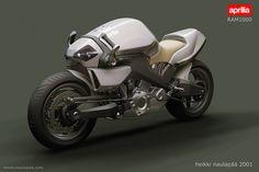 Aprilia RAM1000, future motorbike, motorcycle concept