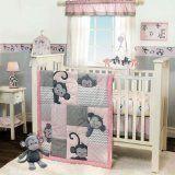 #10: Bedtime Originals 3 Piece Crib Bedding Set, Pinkie