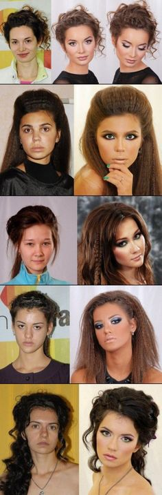 Before And After Makeup Photos