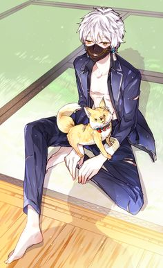 016 Uta No Prince Sama, Touken Ranbu Characters, Anime Characters, Diabolik Lovers, Cute Anime Boy, Anime Guys, Touken Ranbu Nakigitsune, Boy Character, Deadman Wonderland