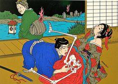 El Ero-guro ha causado controversia en Japón desde los años 30, cuando la fuerte militarización y los problemas sociales impulsaban el erotismo y tabúes.