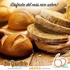 Nuestro pan siempre está listo para que lo lleves a casa y disfrutes de su rico sabor en familia.