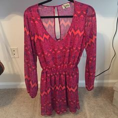 Show me your mumu dress Only worn once! Size medium but very well fits a small:) no trades Show Me Your MuMu Dresses Long Sleeve