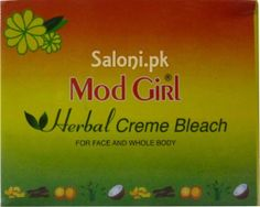 MOD GIRL HERBAL CREME BLEACH FOR ACNE AND WHOLE BODY Saloni™ Health
