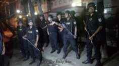 Dhaka attack: Bangladesh says some hostages freed as troops storm cafe         LIVE: Gulshan host...