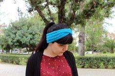 Women's turban knit turban wool knit headband knit by AlkistiKnits