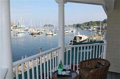 Gorgeous view from the Grand Harbor Inn, Camden, Maine