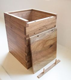 Lead A Quiet Life And Work With Your Hands Dovetailed Box Made From Texas Pecan