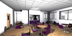 Restaurant Design 3D Visuals – Space Catering
