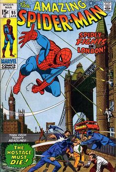 Amazing Spider-Man # 95 by John Romita & Sal Buscema