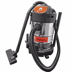 Kubota 8 Gallon Stainless Steel Vacuum Landscaping Equipment, Lawn Equipment, Snow Removal Equipment, Work Site, Kubota, Ontario, Vacuums, Construction, Stainless Steel