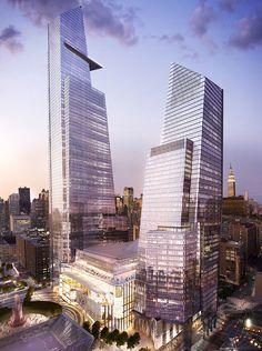 Hudson Yards mega-development I  Kohn Pedersen Fox