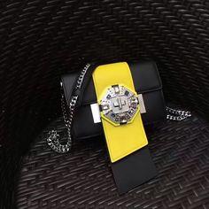 Prada jewels ribbon bag Black +Sun