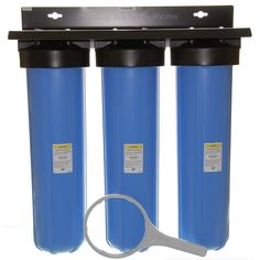 ISPRING 3Stage Whole House Water Filtration System w