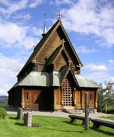 The Reinli stavkyrkje is a Norwegian stave church built some time during the second half of the 13th century in Reinli, a village in the Sør-Aurdal municipality of Oppland county. It is located about 5 km from Bagn Norway.