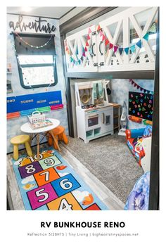 full time rv living with kids bunk bed - full time rv living with kids ; full time rv living with kids wheels ; full time rv living with kids rv storage ; full time rv living with kids bunk bed Bunkhouse Camper, Camper Bunk Beds, Kids Bunk Beds, Rv Homes, Boy Girl Room, Rv Living, Gypsy Living, Tiny Living, Living Rooms