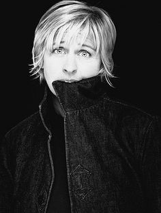 Ellen DeGeneres by Nigel Parry