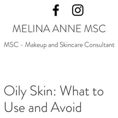 Oily skin this ones for you! 4/4 for the series is done what should I write about next?