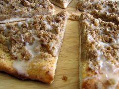 Godfather's Cinnamon Streusel Dessert Pizza