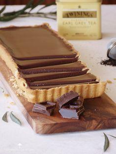 Earl Grey Csokoládé torta