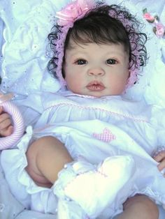 "Reborn Baby Doll Gorgeous ""Jasminn"" Shyann by Aleina Peterson   eBay"