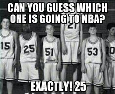 It's Pretty Obvious, Actually<<< Actually, it's not. I was surprised. Then again, I don't watch Basketball...
