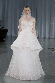 Monique Lhuillier Fall 2013 Crescendo gown